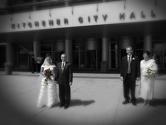 Wedding Photographer Kitchener Waterloo